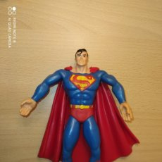 Figuras de Goma y PVC: FIGURA SUPERMAN FLEXIBLE MARCA COMICS SPAIN PVC DC COMICS CS 1992 SUPERHEROES. Lote 247327920