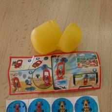 Figuras Kinder: COLECCIÓN HUEBO KINDER, FERRERO, VV094A, APPLAYDU. Lote 247353510