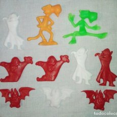 Figuras de Goma y PVC: LOTE DE 10 ANTIGUAS FIGURAS AÑOS 90 MATUTANO PANDILLA DRAKIS Y CHESTER TIPO DUNKIN PROMO PREMIUM. Lote 247429070