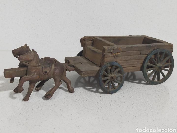 Figuras de Goma y PVC: Alca Capell Jecsan Pech carreta oeste - Foto 2 - 247491965