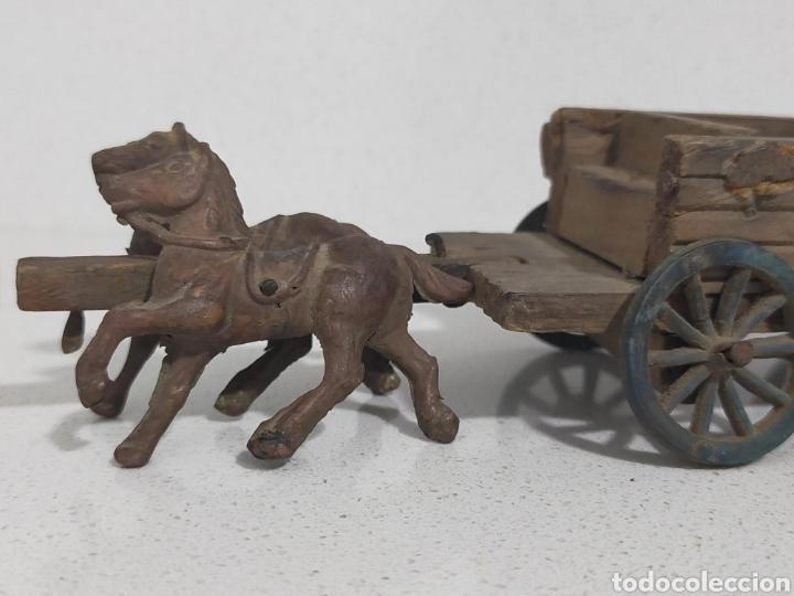 Figuras de Goma y PVC: Alca Capell Jecsan Pech carreta oeste - Foto 5 - 247491965