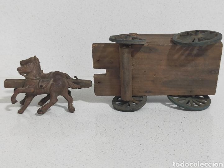 Figuras de Goma y PVC: Alca Capell Jecsan Pech carreta oeste - Foto 6 - 247491965