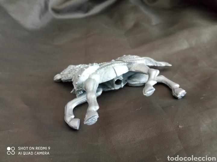 Figuras de Goma y PVC: Caballo medieval gris reamsa - Foto 3 - 247582720