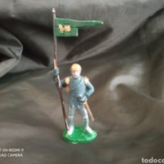 Figuras de Goma y PVC: REAMSA MEDIEVAL ABANDERADO DE PLÁSTICO REF: 132. Lote 247583140