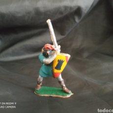 Figuras de Goma y PVC: SOLDADO MEDIEVAL REAMSA EN PLÁSTICO REF: 183. Lote 247584650