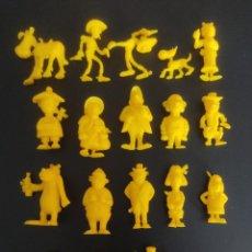 Figuras de Goma y PVC: DUNKIN ,LUCKY COLECCION CASI COMPLETA DE LOS RASCAS,A FALTA DE 2,SALIERON TODAS EN UN MISMO COLOR. Lote 247590545