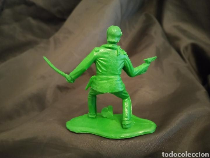 Figuras de Goma y PVC: General Custer verde reamsa gomarsa soldis en plastico little Big horne - Foto 2 - 247663810