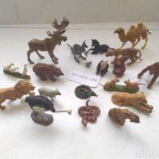 Figuras de Borracha e PVC: LOTE MUÑECOS FIGURAS ANIMALES BRITAINS COMPATIBLES REAMSA,COMANSI,JECSAN. Lote 247720845