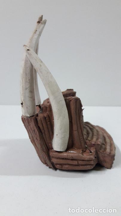 Figuras de Goma y PVC: TRONO AFRICANO . REALIZADO POR ARCLA . ORIGINAL AÑOS 50 EN GOMA - Foto 5 - 247755790