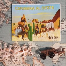 Figuras de Goma y PVC: MONTAPLEX CARAVANA AL OESTE. Lote 247764380