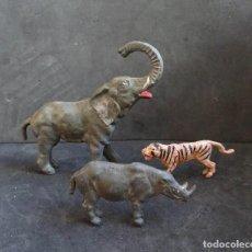 Figuras de Borracha e PVC: GAMA ANIMALES. Lote 247787315