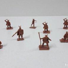 Figuras de Goma y PVC: LOTE DE SOLDADITOS MONTAPLEX - VIKINGOS . AÑOS 70 / 80. Lote 247953375