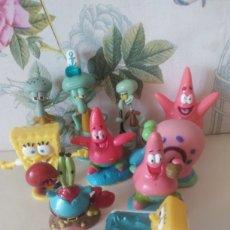 Figuras de Goma y PVC: LOTE FIGURAS BOB ESPONJA. Lote 248146380