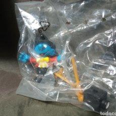 Figuras de Goma y PVC: PITUFO FOTÓGRAFO SCHLEICH. Lote 248284630
