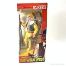 Figuras de Goma y PVC: FIGURA HEROES OF THE WEST - RED CLOUD - NUEVO EN SU CAJA ORIGINAL - COMANSI. Lote 248571440