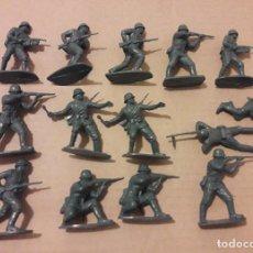 Figuras de Goma y PVC: LOTE 14 SOLDADOS ALEMANES, COMANSI, NOVOLINEA , JECSAN .. Lote 248621620
