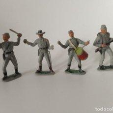 Figuras de Goma y PVC: FIGURAS SOLDADOS CONFEDERADOS JECSAN. Lote 248626960