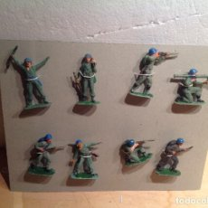 Figuras de Goma y PVC: 8 SOLDADOS DE MARINES DE INFANTERÍA DE JECSAN. Lote 248629510