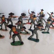Figuras de Goma y PVC: LOTE 18 VAQUEROS, 6 CMS, COMANSI, JECSAN ..... Lote 248987585