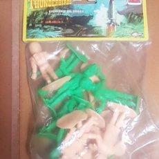 Figure di Gomma e PVC: THUNDERBIRDS GUARDIANES DEL ESPACIO COMANSI. Lote 249126920
