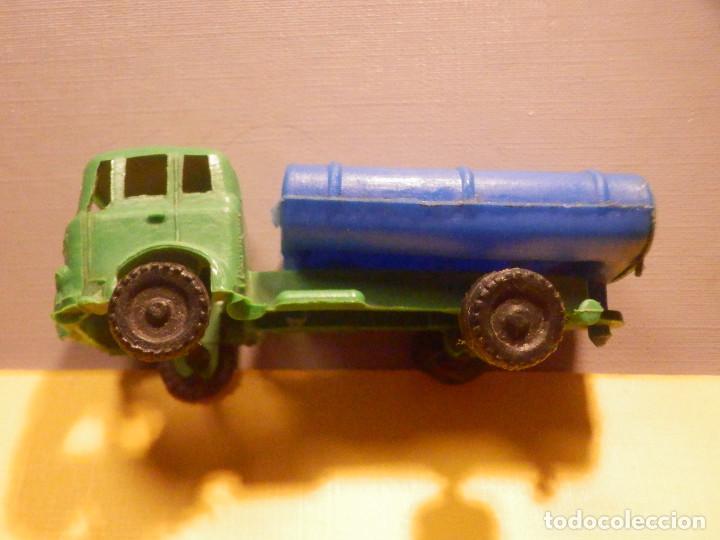 Figuras de Goma y PVC: Camión Plástico - Cabeza Tractora Bedford con Cuba Cisterna Campsa - Kiosko 60´s 70´s - Foto 2 - 249263545