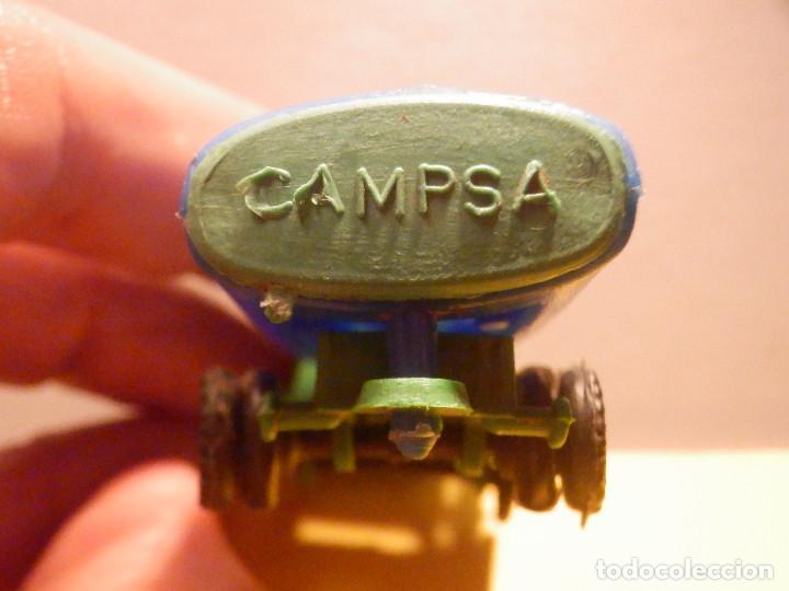 Figuras de Goma y PVC: Camión Plástico - Cabeza Tractora Bedford con Cuba Cisterna Campsa - Kiosko 60´s 70´s - Foto 3 - 249263545