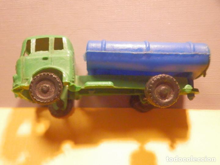 Figuras de Goma y PVC: Camión Plástico - Cabeza Tractora Bedford con Cuba Cisterna Campsa - Kiosko 60´s 70´s - Foto 4 - 249263545