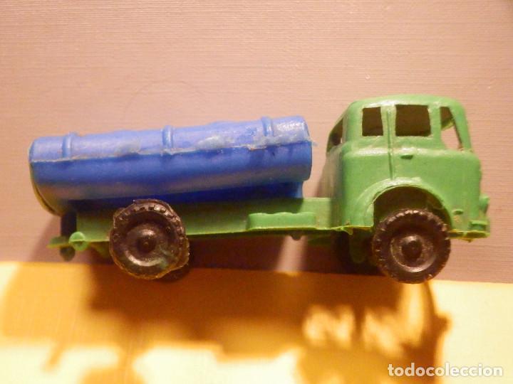 Figuras de Goma y PVC: Camión Plástico - Cabeza Tractora Bedford con Cuba Cisterna Campsa - Kiosko 60´s 70´s - Foto 5 - 249263545