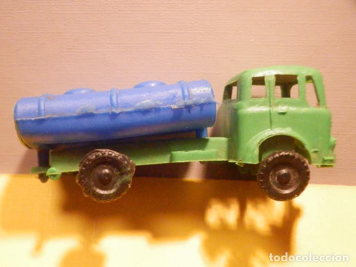 Figuras de Goma y PVC: Camión Plástico - Cabeza Tractora Bedford con Cuba Cisterna Campsa - Kiosko 60´s 70´s - Foto 8 - 249263545
