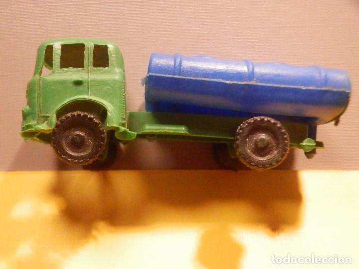 Figuras de Goma y PVC: Camión Plástico - Cabeza Tractora Bedford con Cuba Cisterna Campsa - Kiosko 60´s 70´s - Foto 9 - 249263545