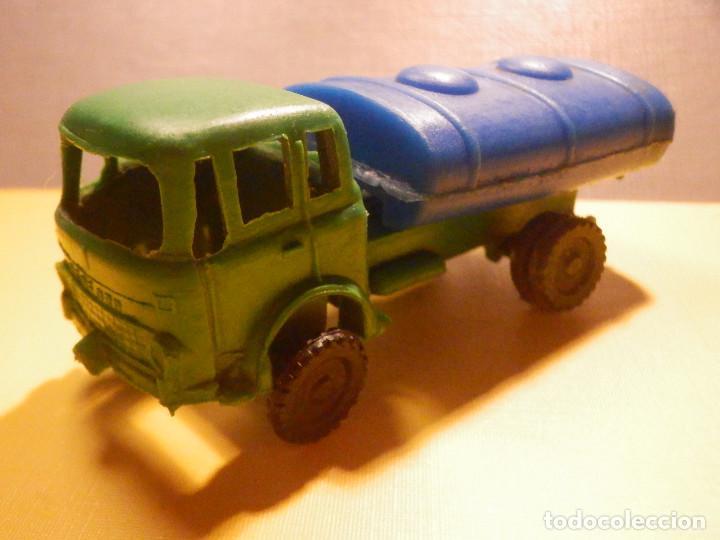 Figuras de Goma y PVC: Camión Plástico - Cabeza Tractora Bedford con Cuba Cisterna Campsa - Kiosko 60´s 70´s - Foto 10 - 249263545