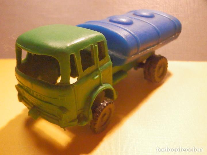 Figuras de Goma y PVC: Camión Plástico - Cabeza Tractora Bedford con Cuba Cisterna Campsa - Kiosko 60´s 70´s - Foto 11 - 249263545