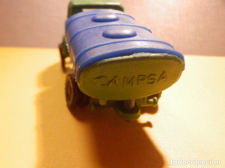Figuras de Goma y PVC: Camión Plástico - Cabeza Tractora Bedford con Cuba Cisterna Campsa - Kiosko 60´s 70´s - Foto 12 - 249263545