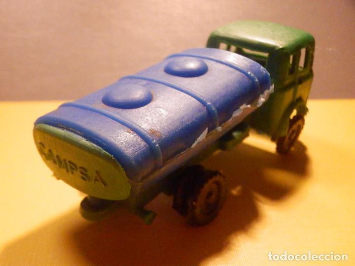 Figuras de Goma y PVC: Camión Plástico - Cabeza Tractora Bedford con Cuba Cisterna Campsa - Kiosko 60´s 70´s - Foto 13 - 249263545