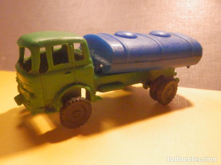 Figuras de Goma y PVC: Camión Plástico - Cabeza Tractora Bedford con Cuba Cisterna Campsa - Kiosko 60´s 70´s - Foto 14 - 249263545