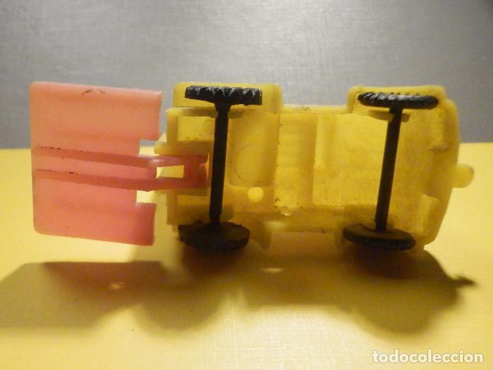 Figuras de Goma y PVC: Máquina Plástico - Carretilla Fenwick - Transpalet - Kiosko 60´s 70´s - Foto 4 - 249274700
