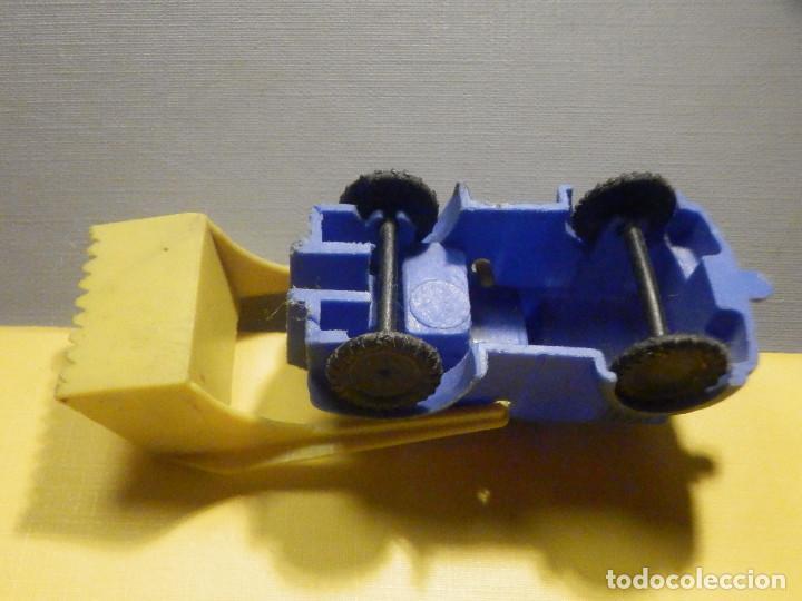 Figuras de Goma y PVC: Máquina Plástico - Pala Retro Retroescavadora - Kiosko 60´s 70´s - Foto 4 - 249275135