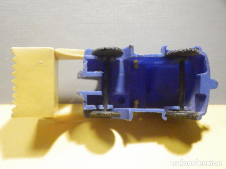Figuras de Goma y PVC: Máquina Plástico - Pala Retro Retroescavadora - Kiosko 60´s 70´s - Foto 5 - 249275135