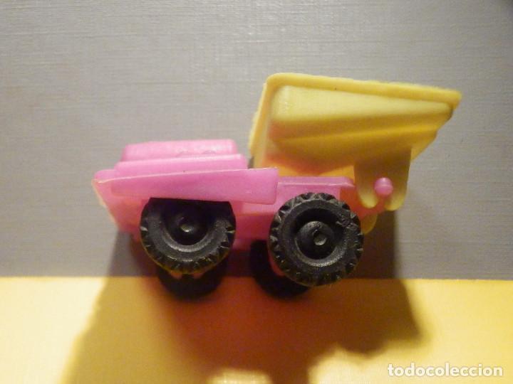 Figuras de Goma y PVC: Máquina Plástico - Pala Transporte y movimiento Tierra y minas - Kiosko 60´s 70´s - Foto 4 - 249275425