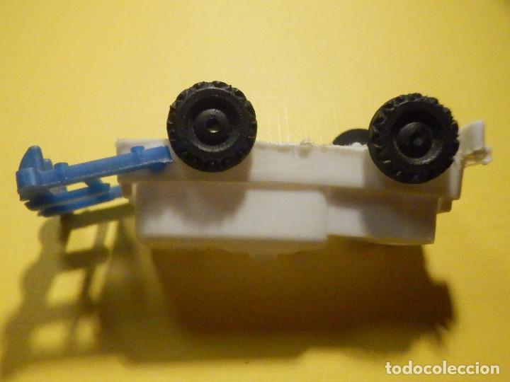 Figuras de Goma y PVC: Máquina Plástico - Tractor arado - Kiosko 60´s 70´s - Foto 7 - 249278670