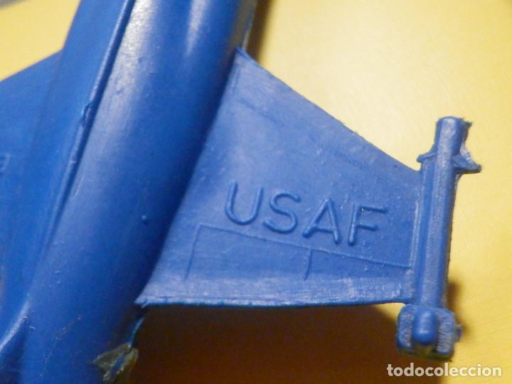 Figuras de Goma y PVC: Avión de plástico - F 104 - StarFighter - Con ruedas - Kiosco - 60´s 70´s - Foto 2 - 249301365