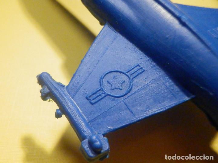 Figuras de Goma y PVC: Avión de plástico - F 104 - StarFighter - Con ruedas - Kiosco - 60´s 70´s - Foto 3 - 249301365