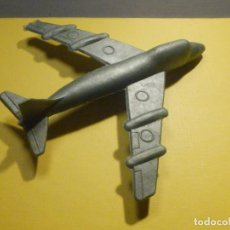 Figuras de Goma y PVC: AVIÓN DE PLÁSTICO - SIN RUEDAS - KIOSCO - 60´S 70´S. Lote 249302280