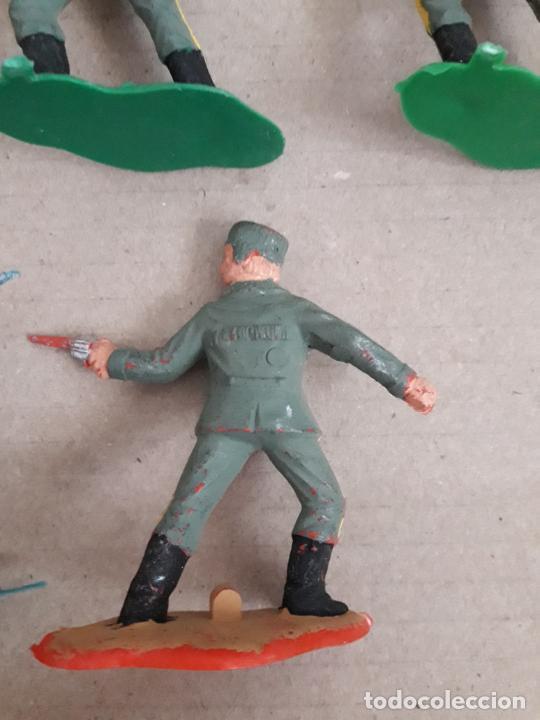 Figuras de Goma y PVC: Lote 10 figuras a identificar. Comansi, jecsan ... 6 cms - Foto 3 - 249327615