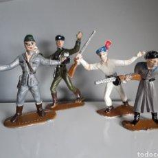 Figuras de Goma y PVC: SOLDADOS, EJÉRCITOS DEL MUNDO DE COMANSI, 1.ª ÉPOCA AÑOS 60 RUSO/SOVIÉTICO, INDIO, ALEMÁN Y JAPONÉS.. Lote 249410065