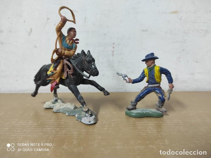 FIGURAS DE PLÁSTICO MADE IN HONG KONG PARA BRITAIN LTD (Juguetes - Figuras de Goma y Pvc - Britains)
