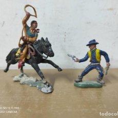 Figuras de Goma y PVC: FIGURAS DE PLÁSTICO MADE IN HONG KONG PARA BRITAIN LTD. Lote 249485980