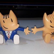 Figuras de Goma y PVC: PAREJA DE FIGURAS PVC COBI OLIMPIADAS BARCELONA COMANSI. Lote 250216070