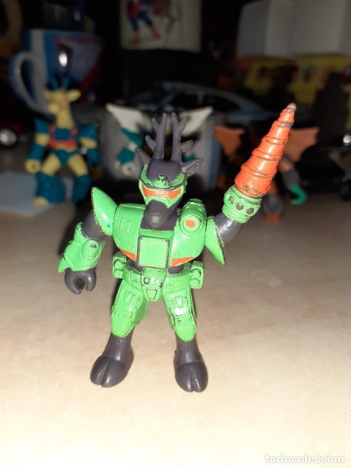 Figuras de Goma y PVC: Lote 4 Bestias de Combate.TAKARA Hasbro 1986.Combat Beasts. - Foto 2 - 250326680