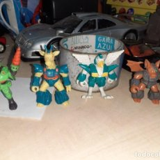 Figuras de Goma y PVC: LOTE 4 BESTIAS DE COMBATE.TAKARA HASBRO 1986.COMBAT BEASTS.. Lote 250326680